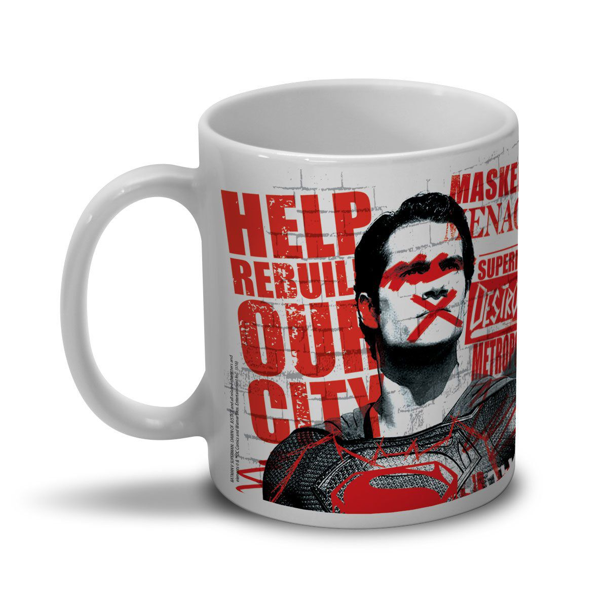 Caneca Batman VS Superman False God  - bandUP Store Marketplace