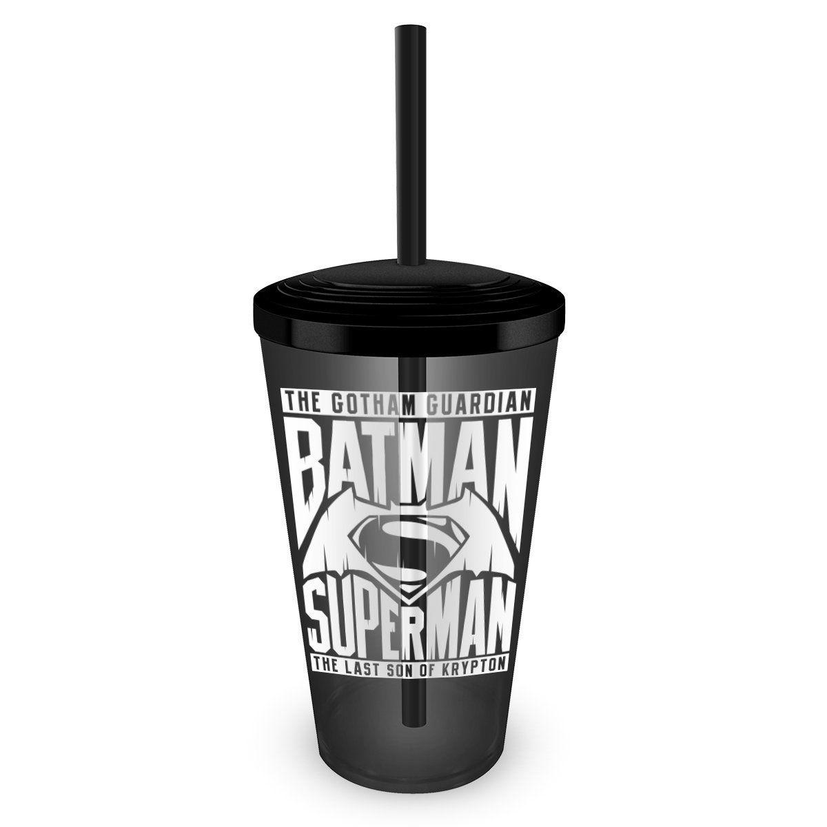 Copo Acrílico Fumê Batman VS Superman The Ultimate  - bandUP Store Marketplace