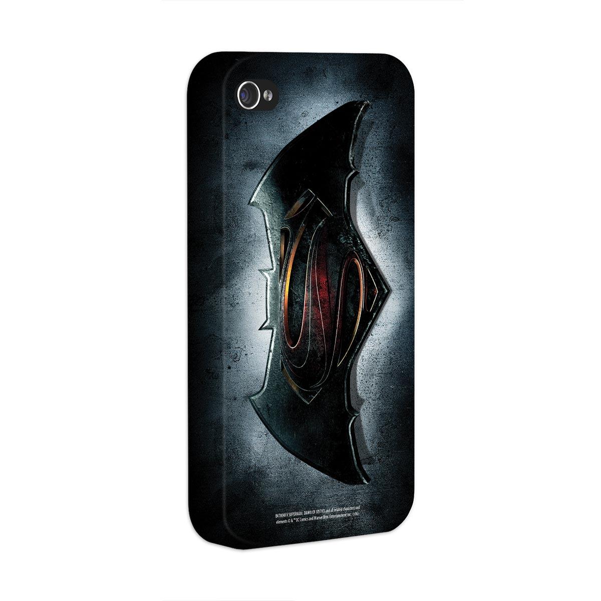 Capa para iPhone 4/4S Batman VS Superman Logo  - bandUP Store Marketplace