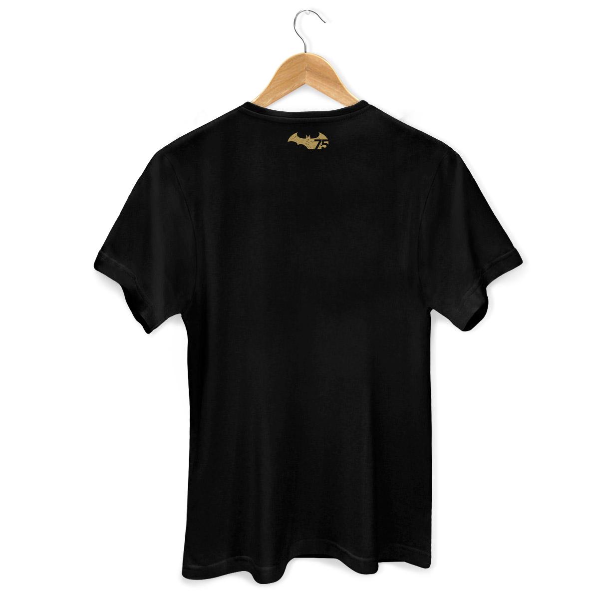 Camiseta Masculina Batman 75 Anos Logo  - bandUP Store Marketplace