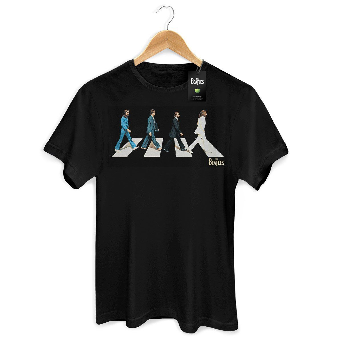 Camiseta Unissex The Beatles Abbey Road  - bandUP Store Marketplace