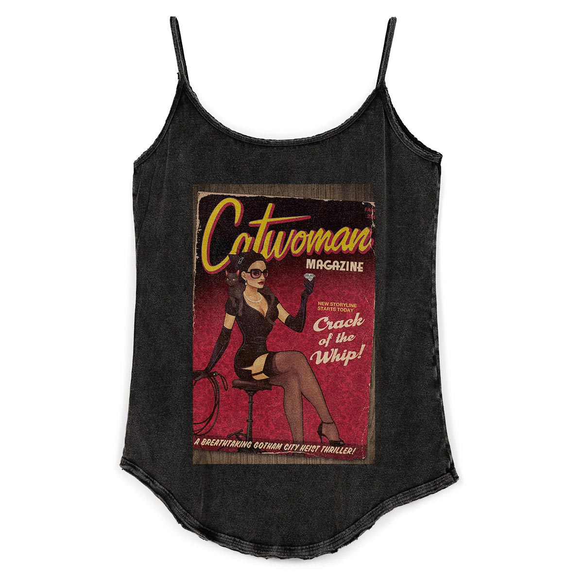 Regatinha Feminina Catwoman Magazine  - bandUP Store Marketplace