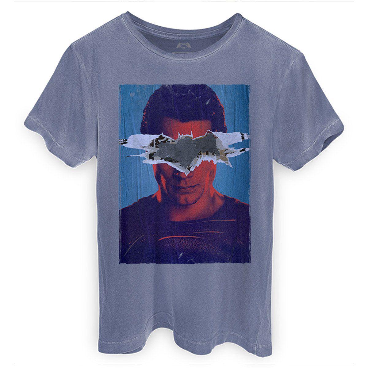 T-shirt Premium Masculina Batman VS Superman Man VS God  - bandUP Store Marketplace