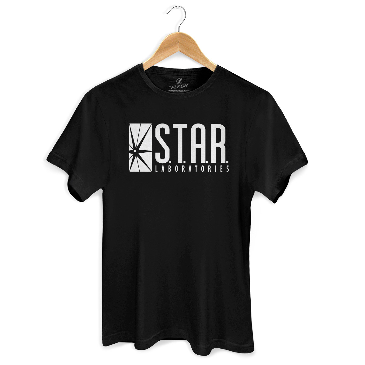 Camiseta Masculina The Flash Serie STAR Laboratories  - bandUP Store Marketplace