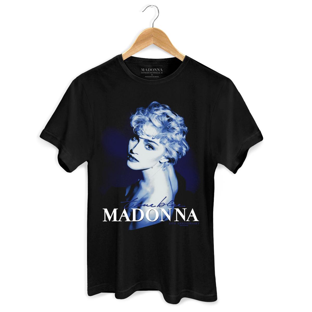 Camiseta Masculina Madonna True Blue  - bandUP Store Marketplace