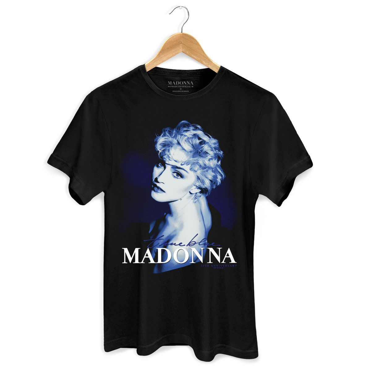Camiseta Masculina Madonna True Blue  - bandUP Store Marketplace