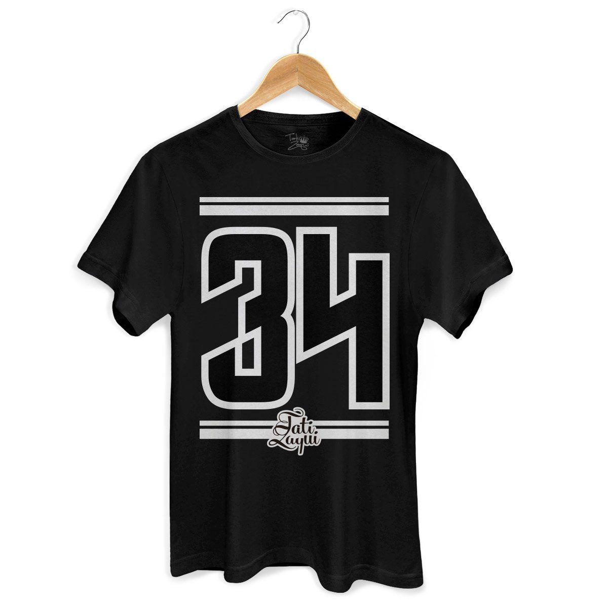 Camiseta Masculina MC Tati Zaqui 34 P&B  - bandUP Store Marketplace