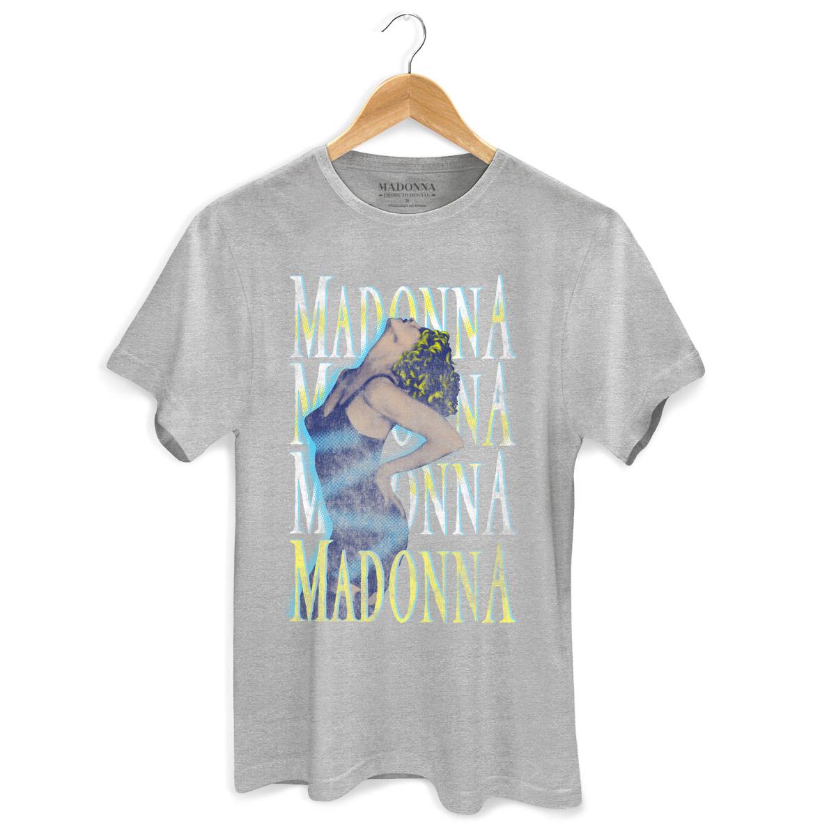Camiseta Masculina Madonna Vogue  - bandUP Store Marketplace