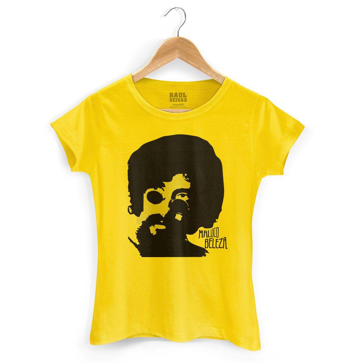 Camiseta Feminina Raul Seixas Maluco Beleza  - bandUP Store Marketplace