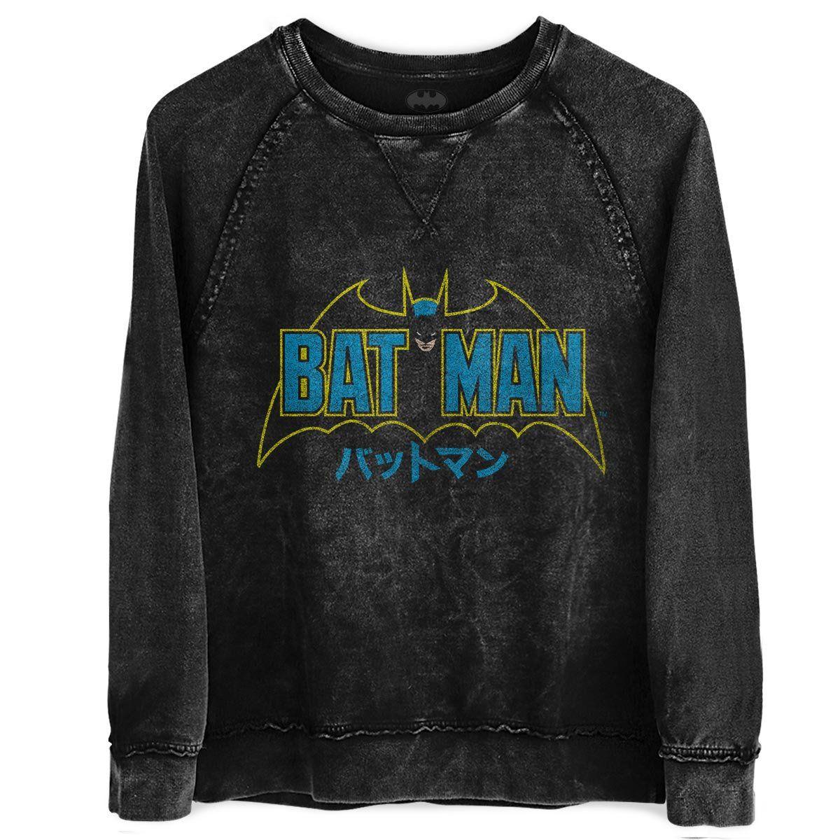 Moletinho Marmorizado Batman Japanese  - bandUP Store Marketplace