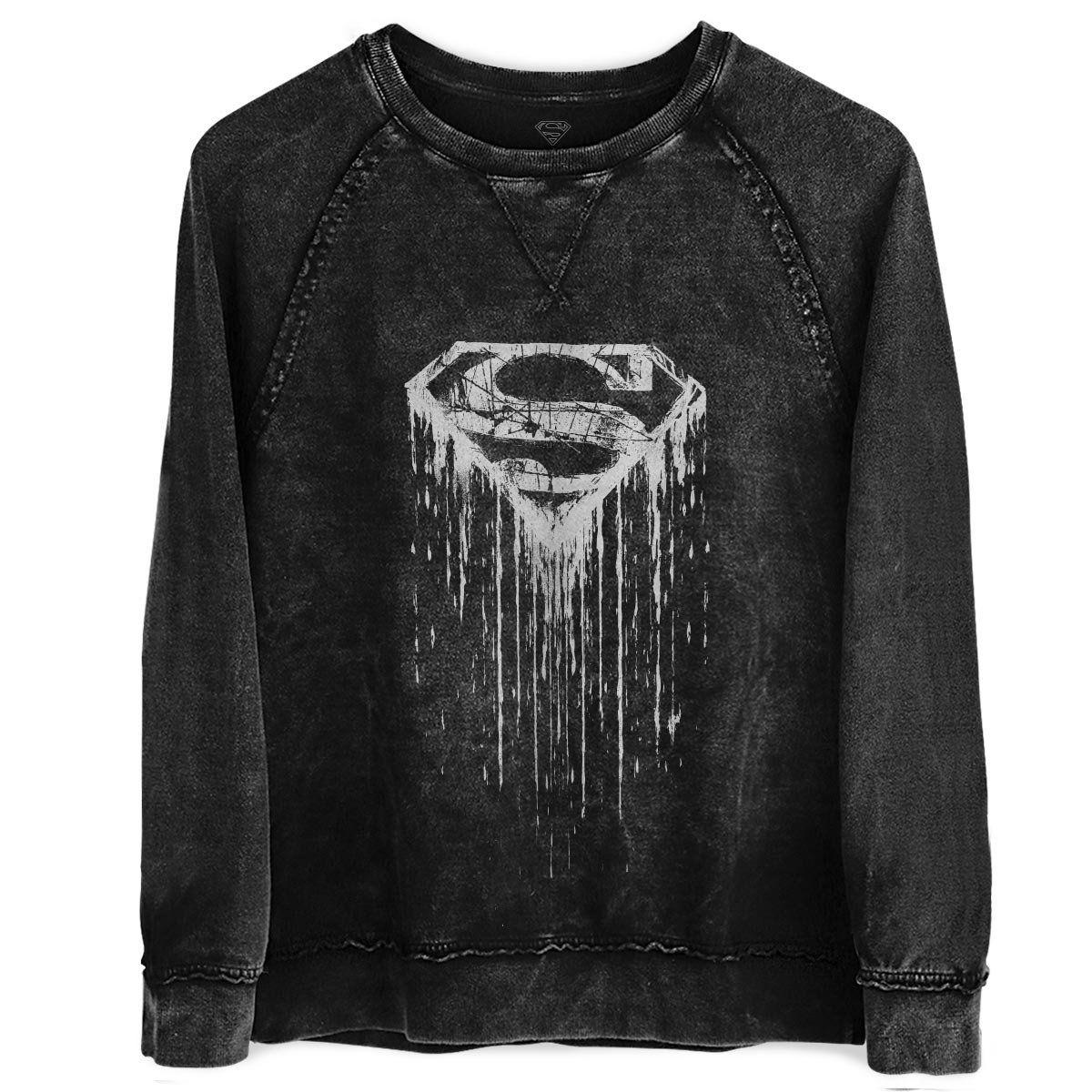 Moletinho Marmorizado Superman Steel Melting  - bandUP Store Marketplace