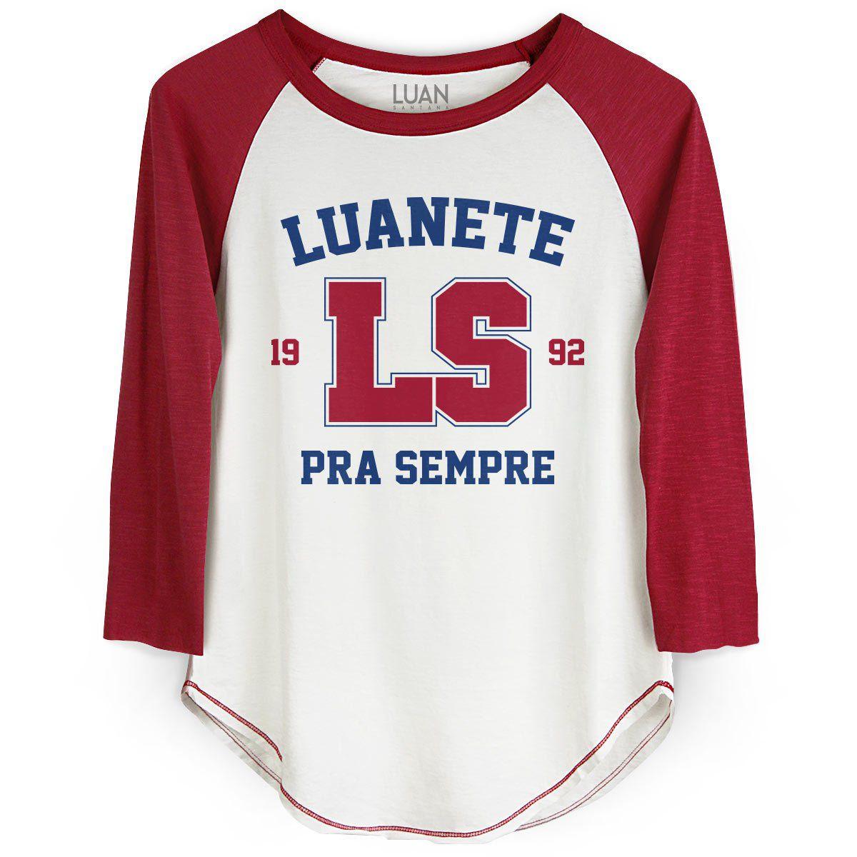 Camiseta Raglan Feminina Luan Santana LS 1992  - bandUP Store Marketplace