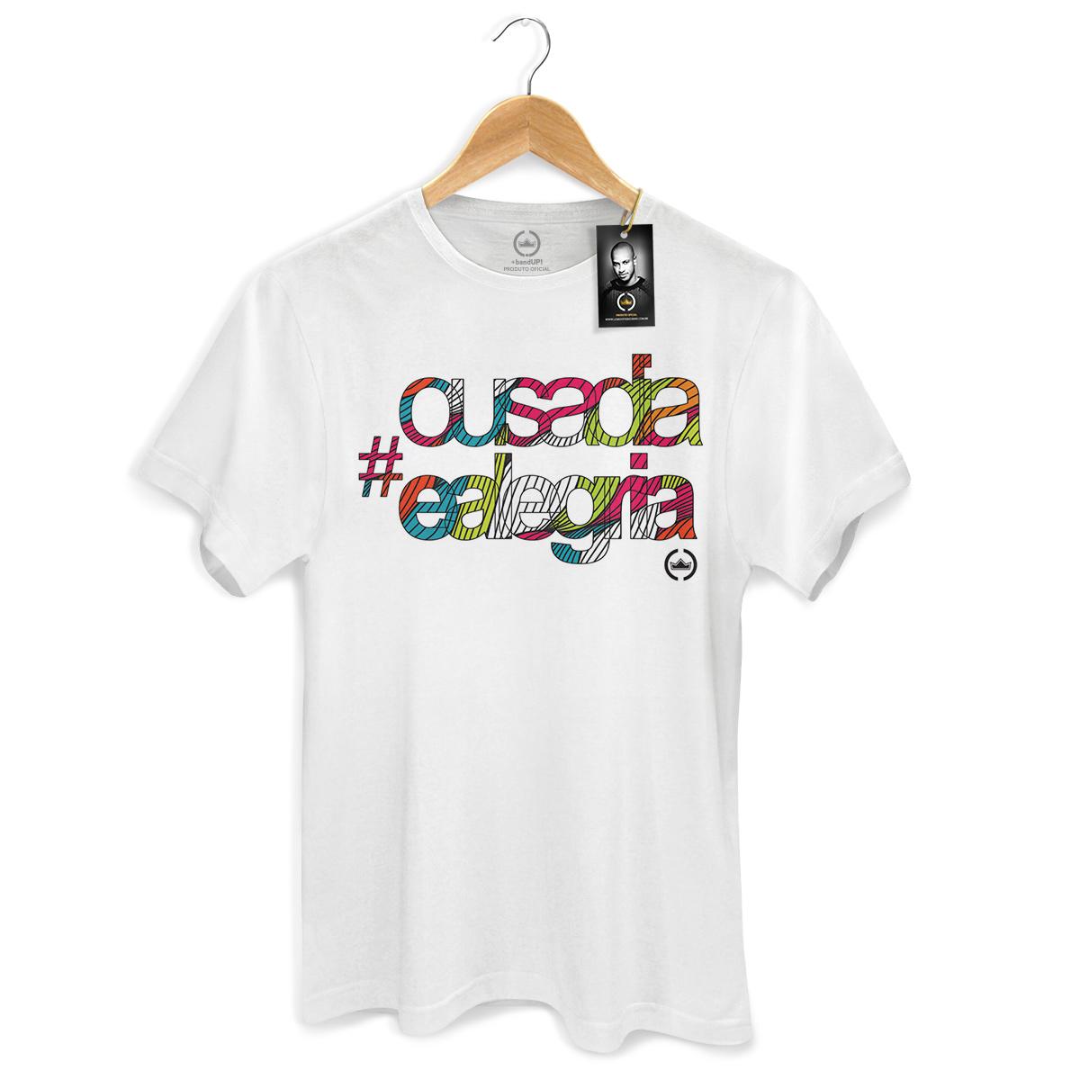 Camiseta Masculina Thiaguinho Ousadia e Alegria Colors  - bandUP Store Marketplace