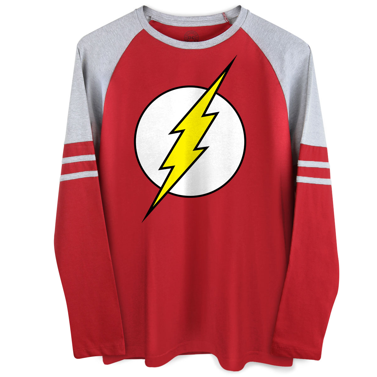 Blusa Raglan Masculina The Flash Logo - bandUP Store Marketplace
