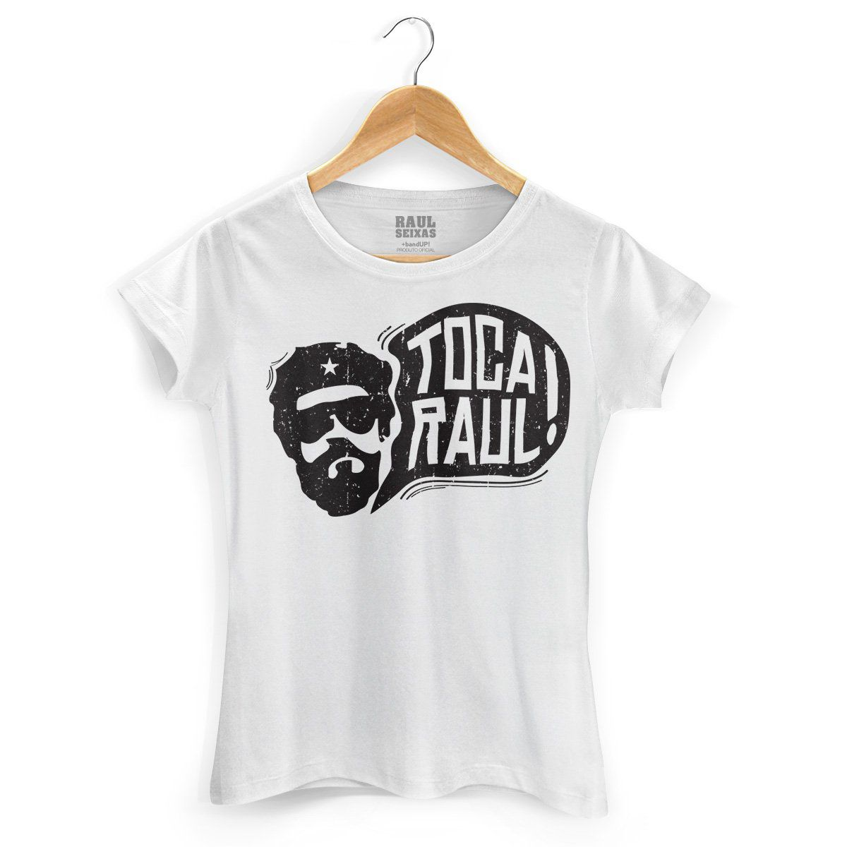 Camiseta Feminina Raul Seixas Toca Raul  - bandUP Store Marketplace