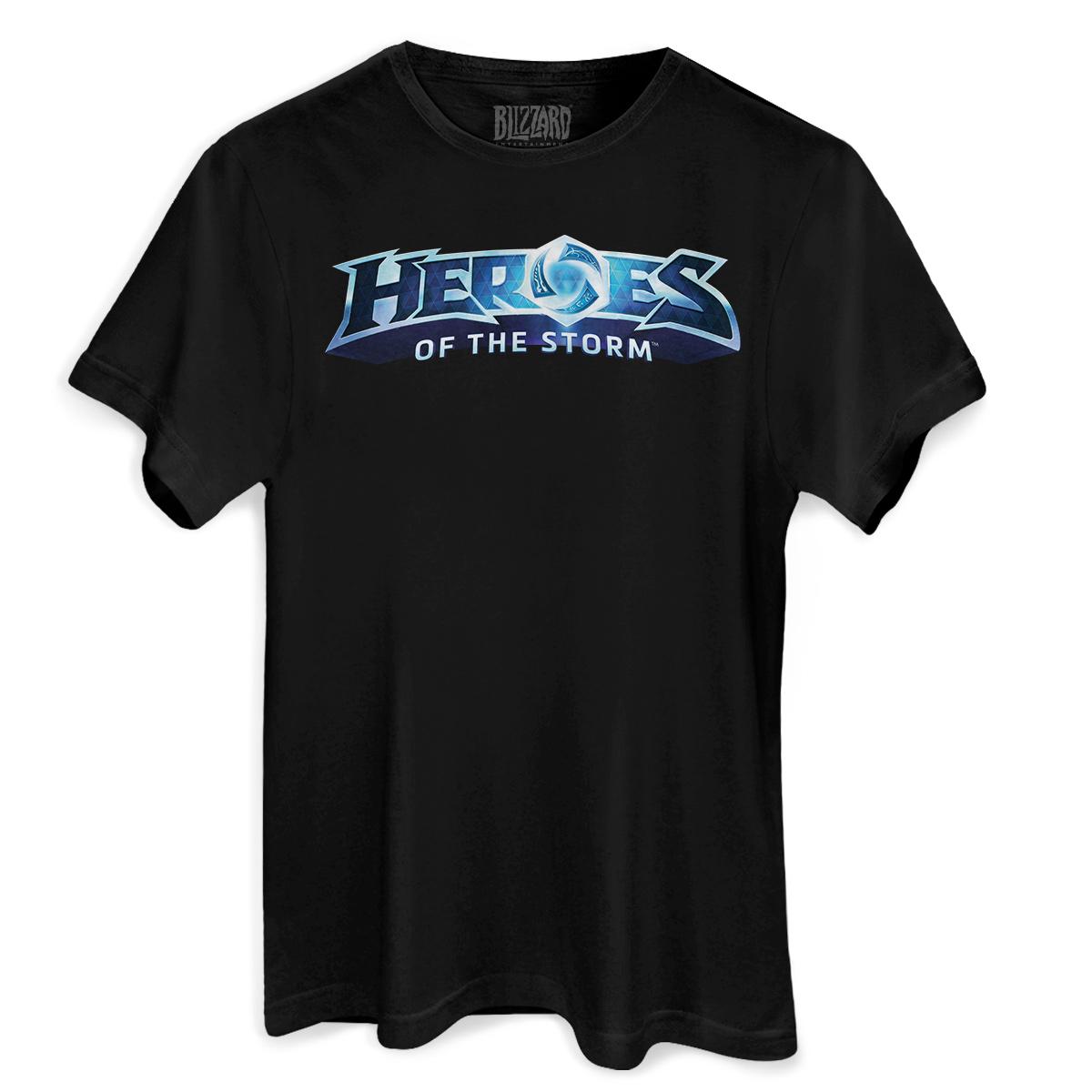 Camiseta Masculina Heroes Of The Storm Logo  - bandUP Store Marketplace