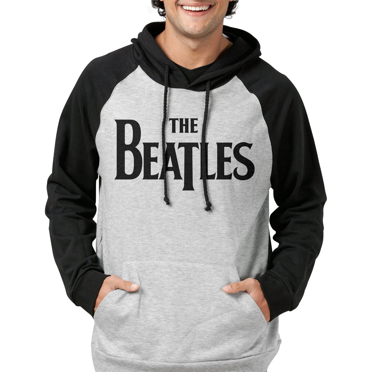 Moletom Raglan The Beatles Logo  - bandUP Store Marketplace
