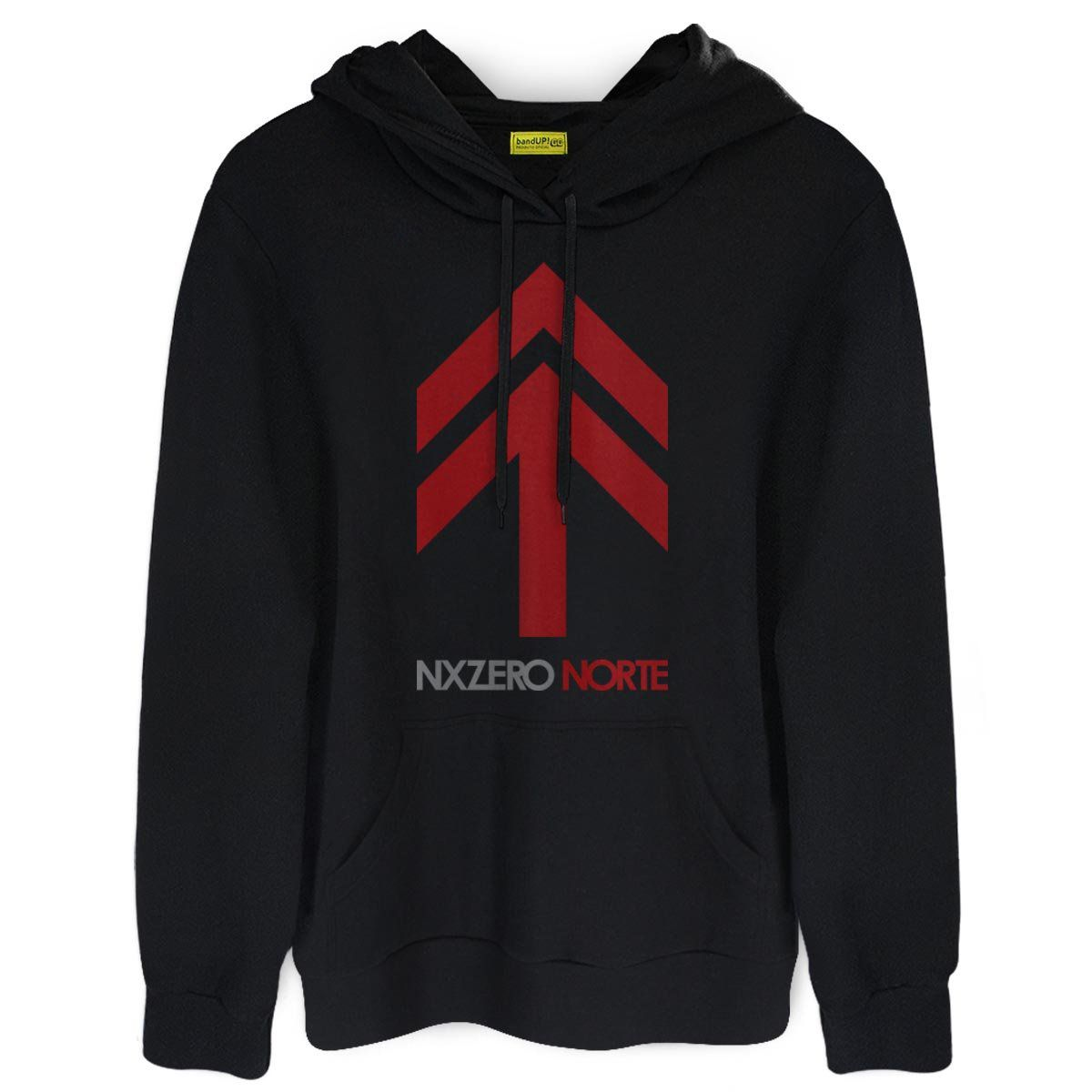 Moletom NXZero Capa Norte  - bandUP Store Marketplace