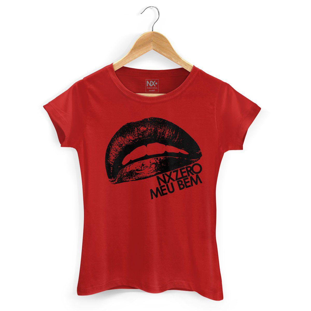 Camiseta Feminina NXZero Meu Bem  - bandUP Store Marketplace