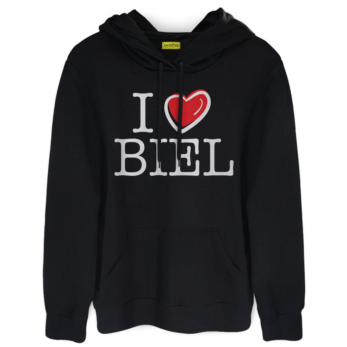 Moletom I Love Biel  - bandUP Store Marketplace