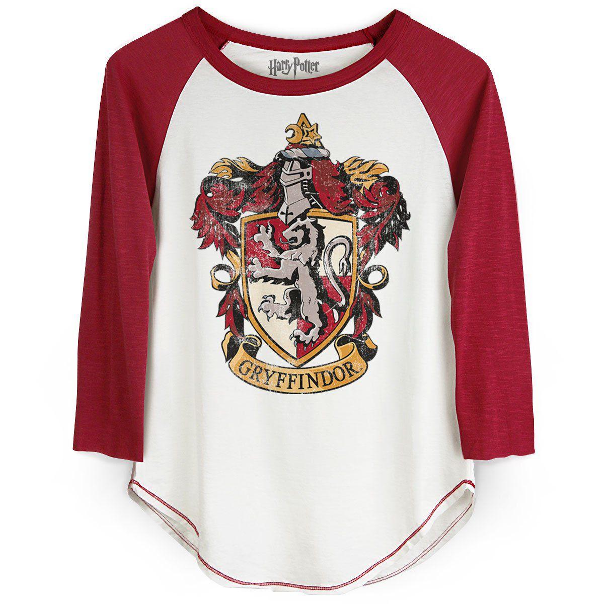Camiseta Manga Longa Feminina Harry Potter Gryffindor  - bandUP Store Marketplace
