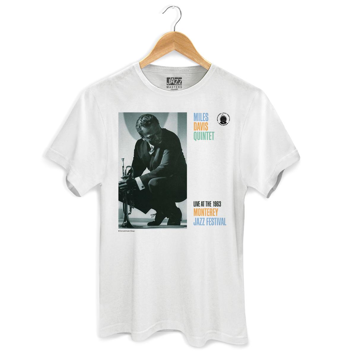 Camiseta Masculina Miles Davis Monterey Jazz Festival  - bandUP Store Marketplace