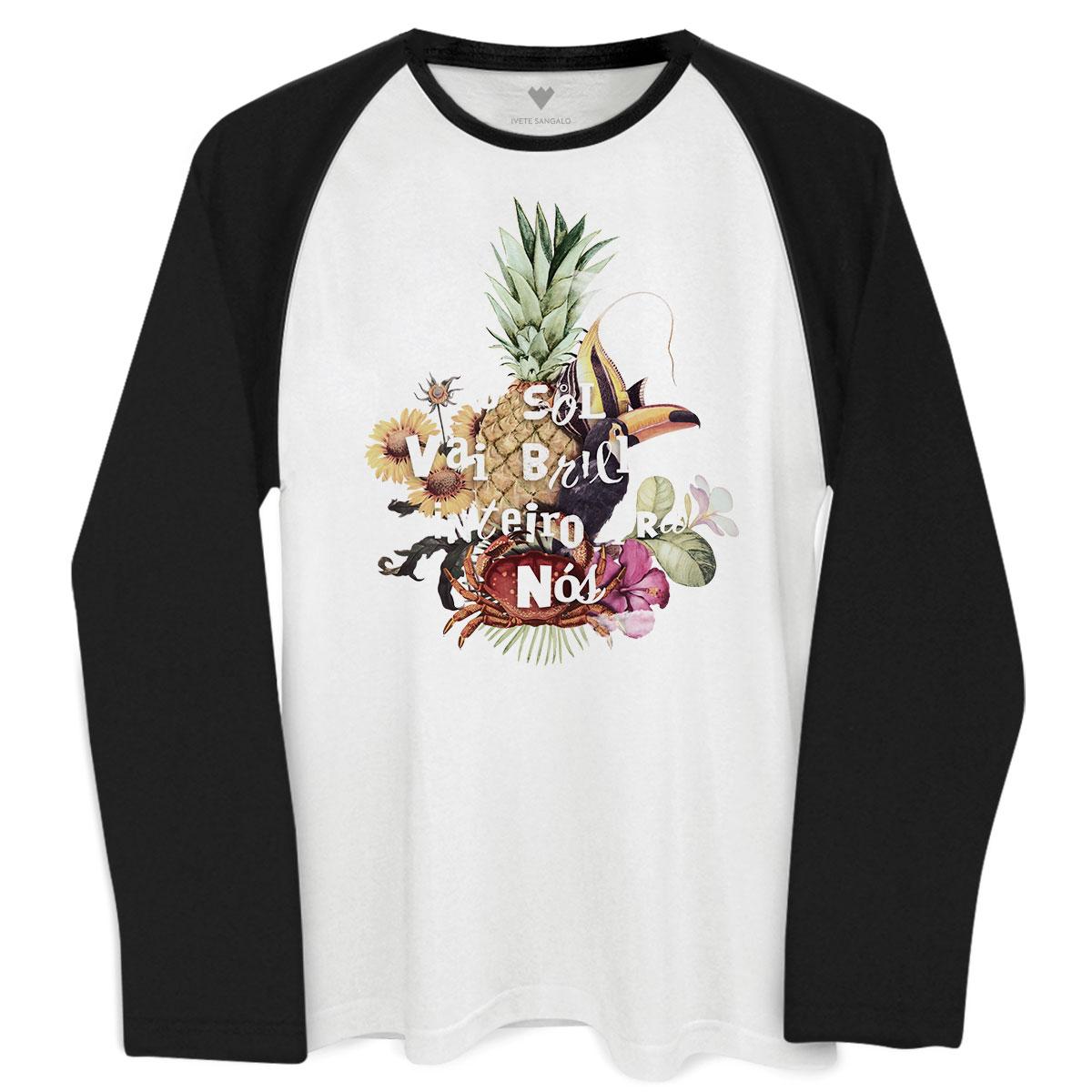 Camiseta Manga Longa Masculina Ivete Sangalo O Sol  - bandUP Store Marketplace