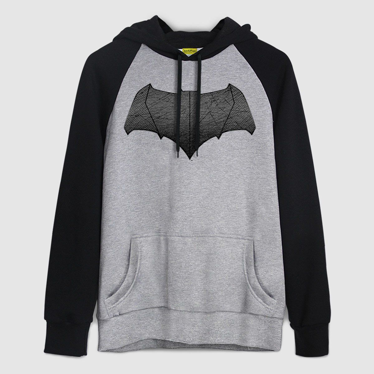 Moletom Raglan Batman VS Superman Logo Batman  - bandUP Store Marketplace