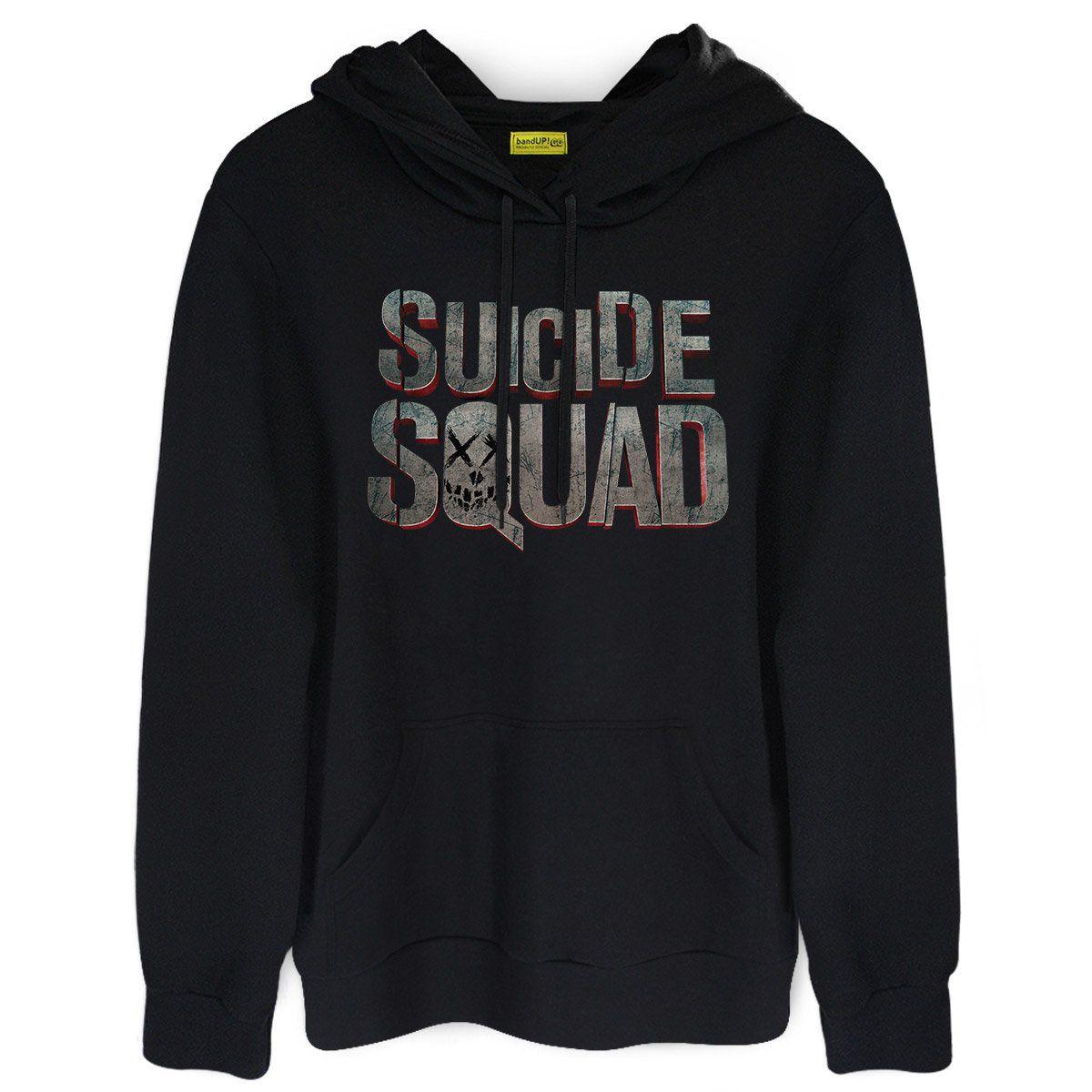 Moletom Esquadrão Suicida Logo  - bandUP Store Marketplace