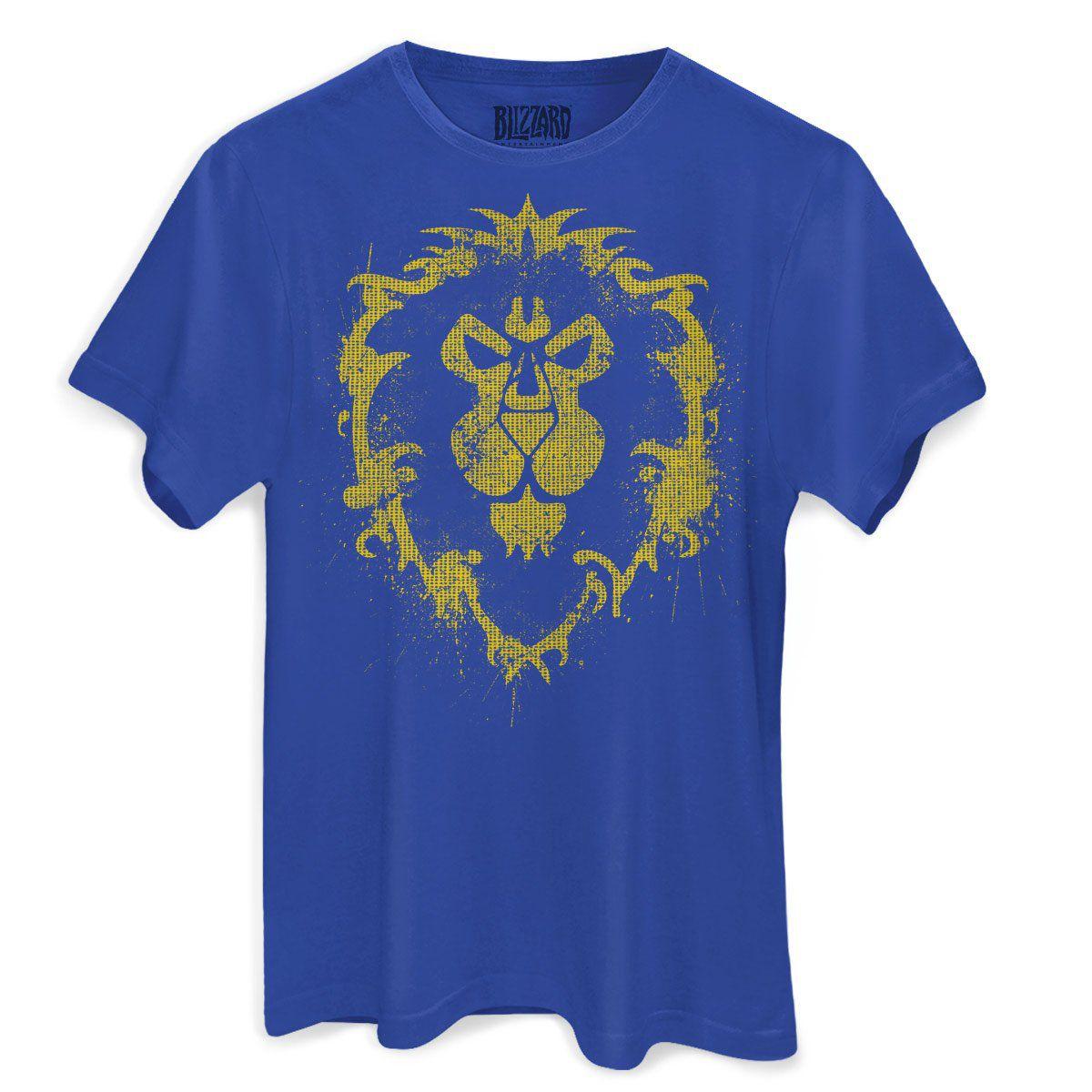 Camiseta Masculina World of Warcraft Aliança  - bandUP Store Marketplace