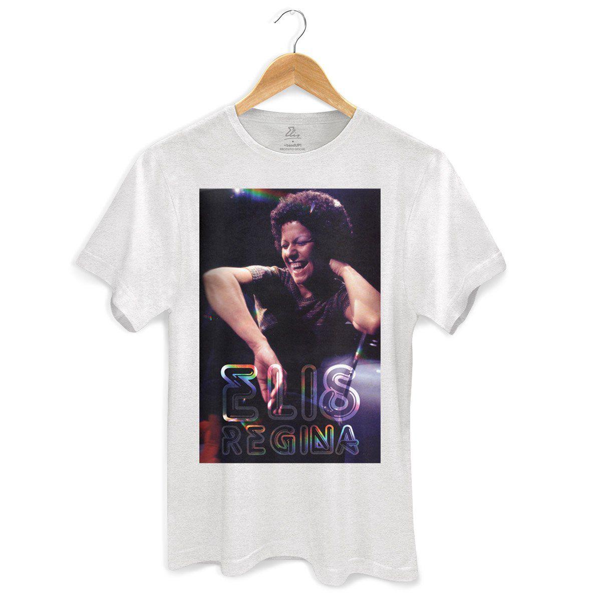 Camiseta Masculina Elis Regina Geniosa e Exigente  - bandUP Store Marketplace