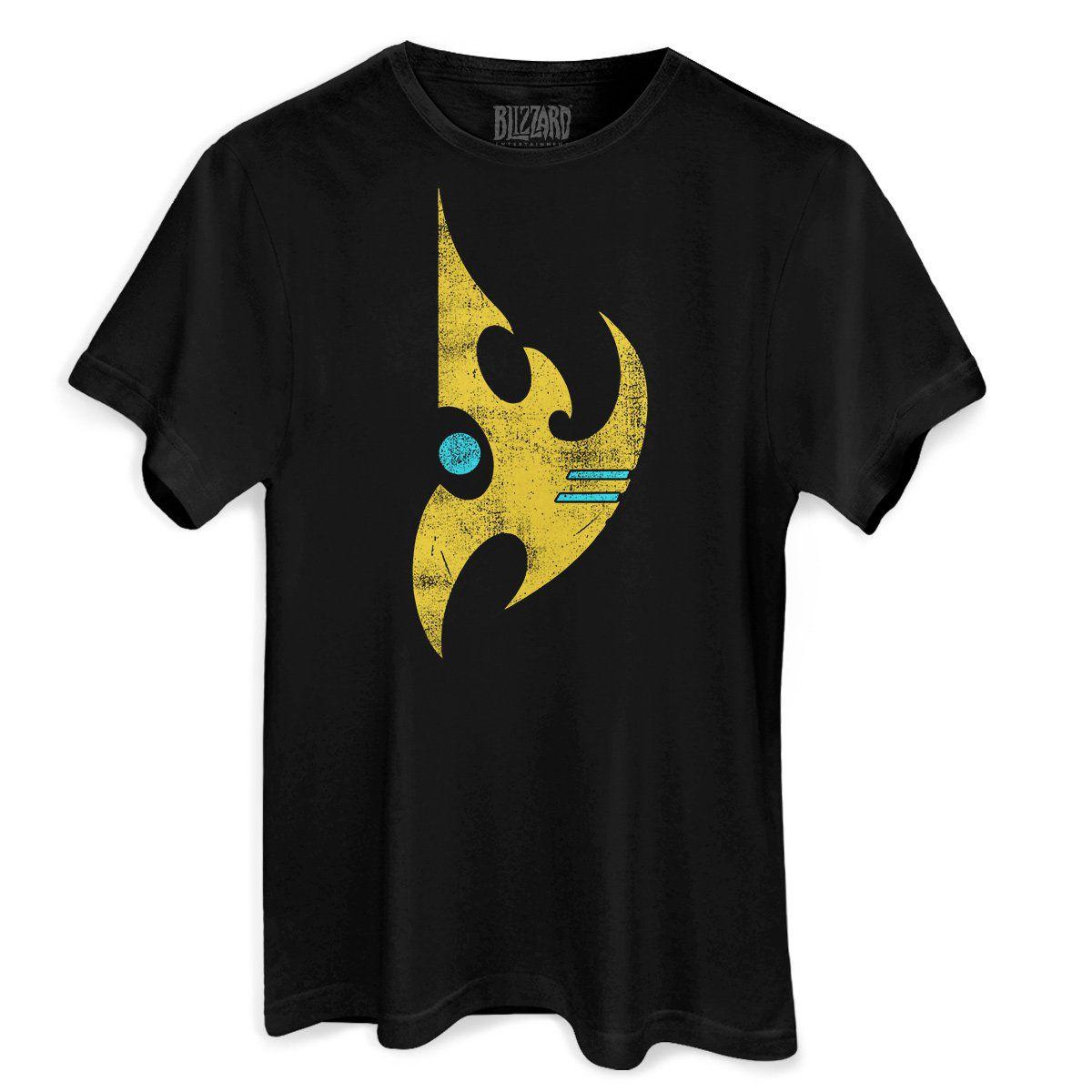 Camiseta Masculina Starcraft 2 Protoss  - bandUP Store Marketplace