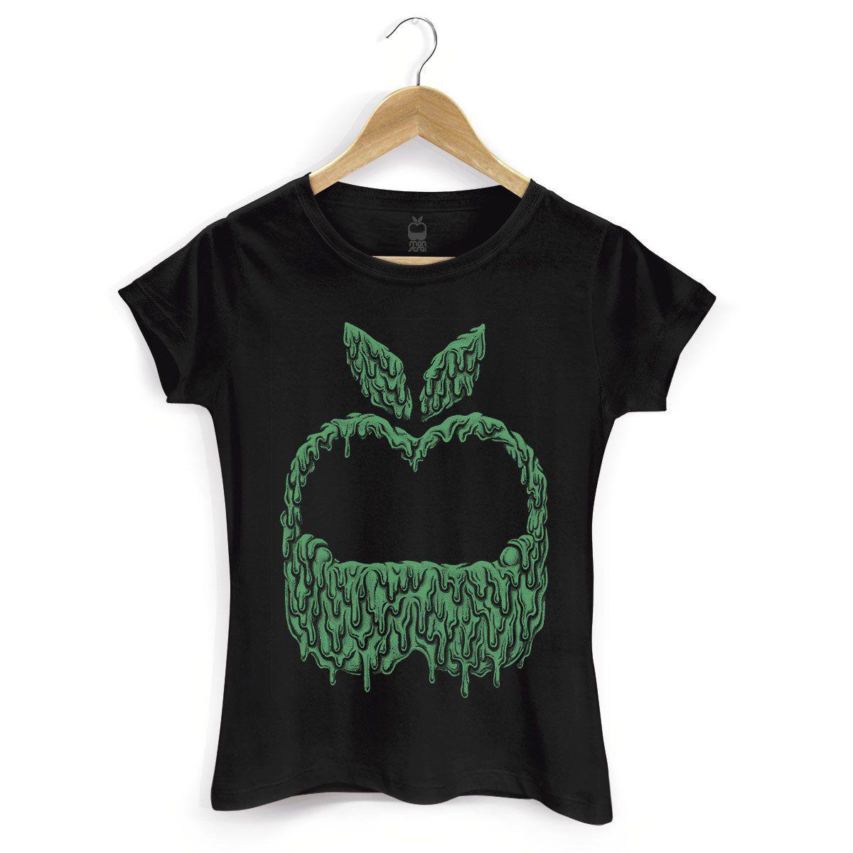 Camiseta Feminina Monstra Maçã Slime  - bandUP Store Marketplace