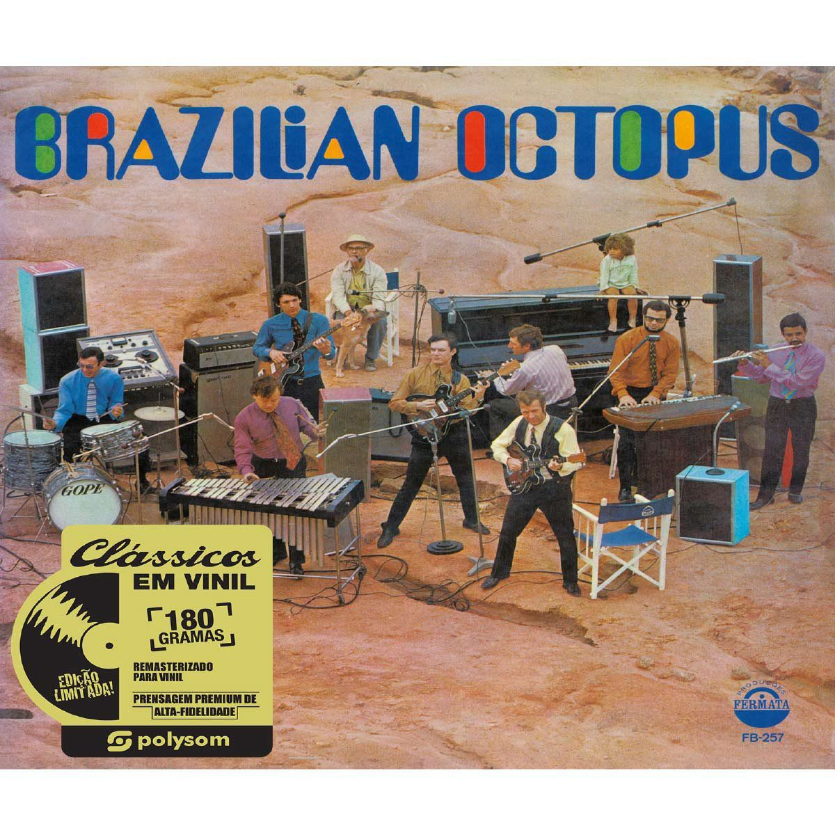LP Brazilian Octopus  - bandUP Store Marketplace