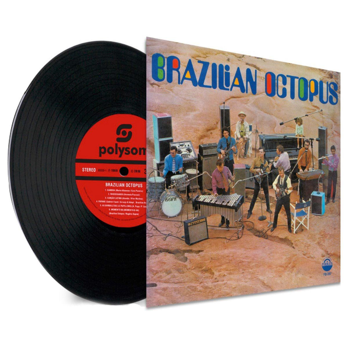 LP Brazilian Octopus  - bandUP Store Marketplace
