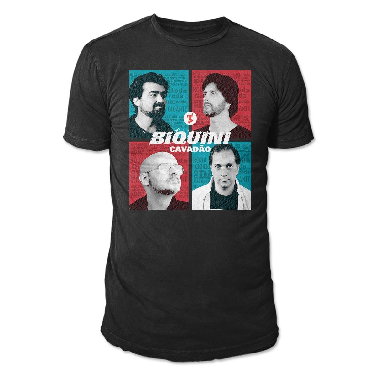 Camiseta Masculina Biquini Cavadao Roda Gigante  - bandUP Store Marketplace