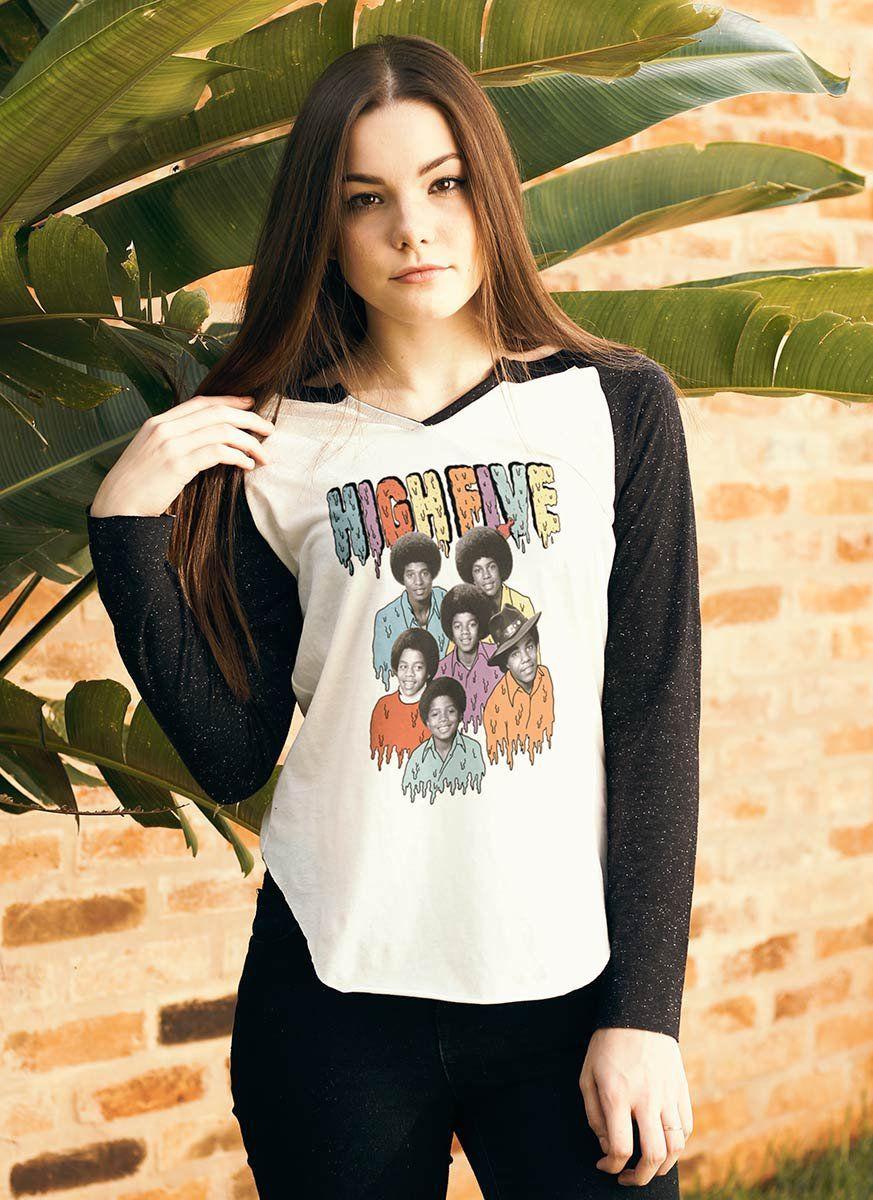 Camiseta Manga Longa Feminina High5  - bandUP Store Marketplace