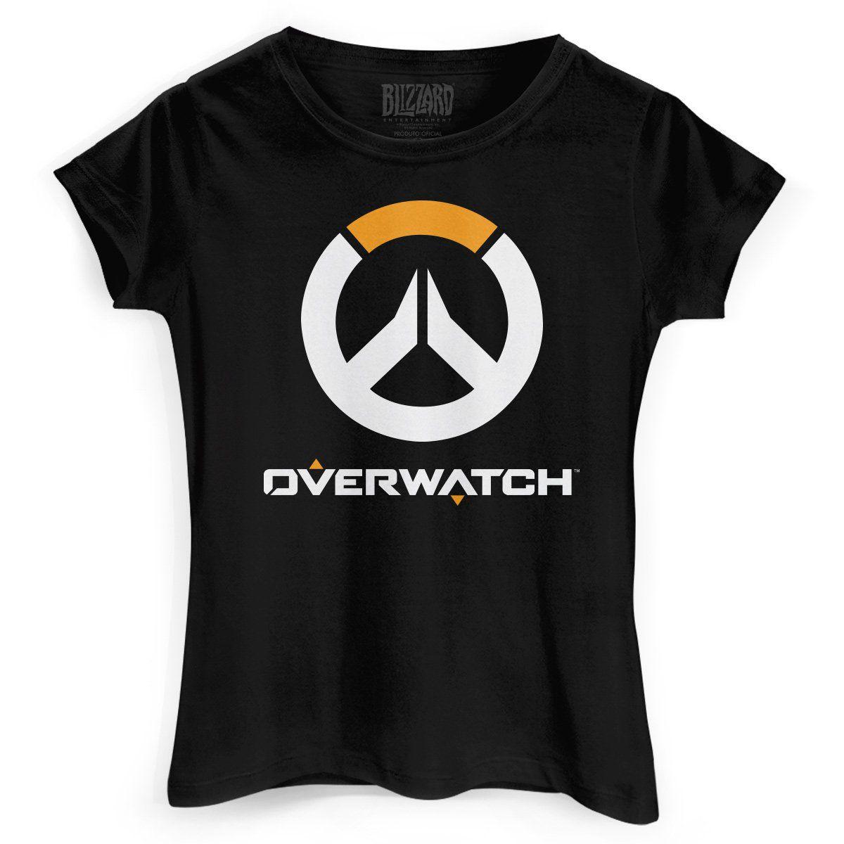 Camiseta Feminina Overwatch Logo  - bandUP Store Marketplace