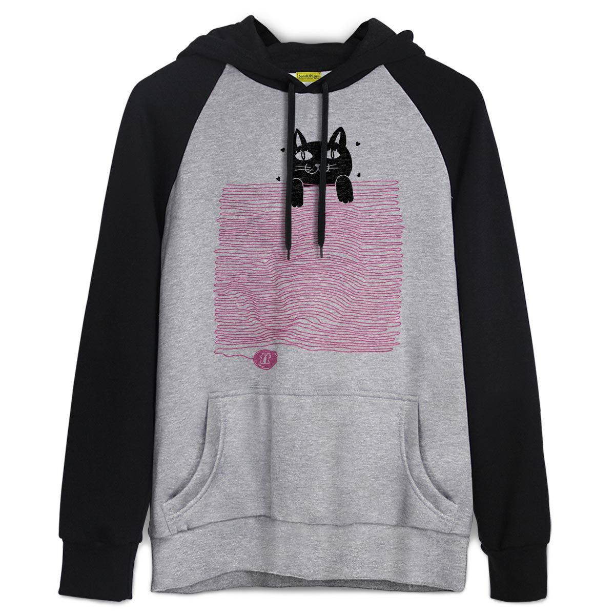 Moletom Raglan TodaTeen Funny Cat  - bandUP Store Marketplace