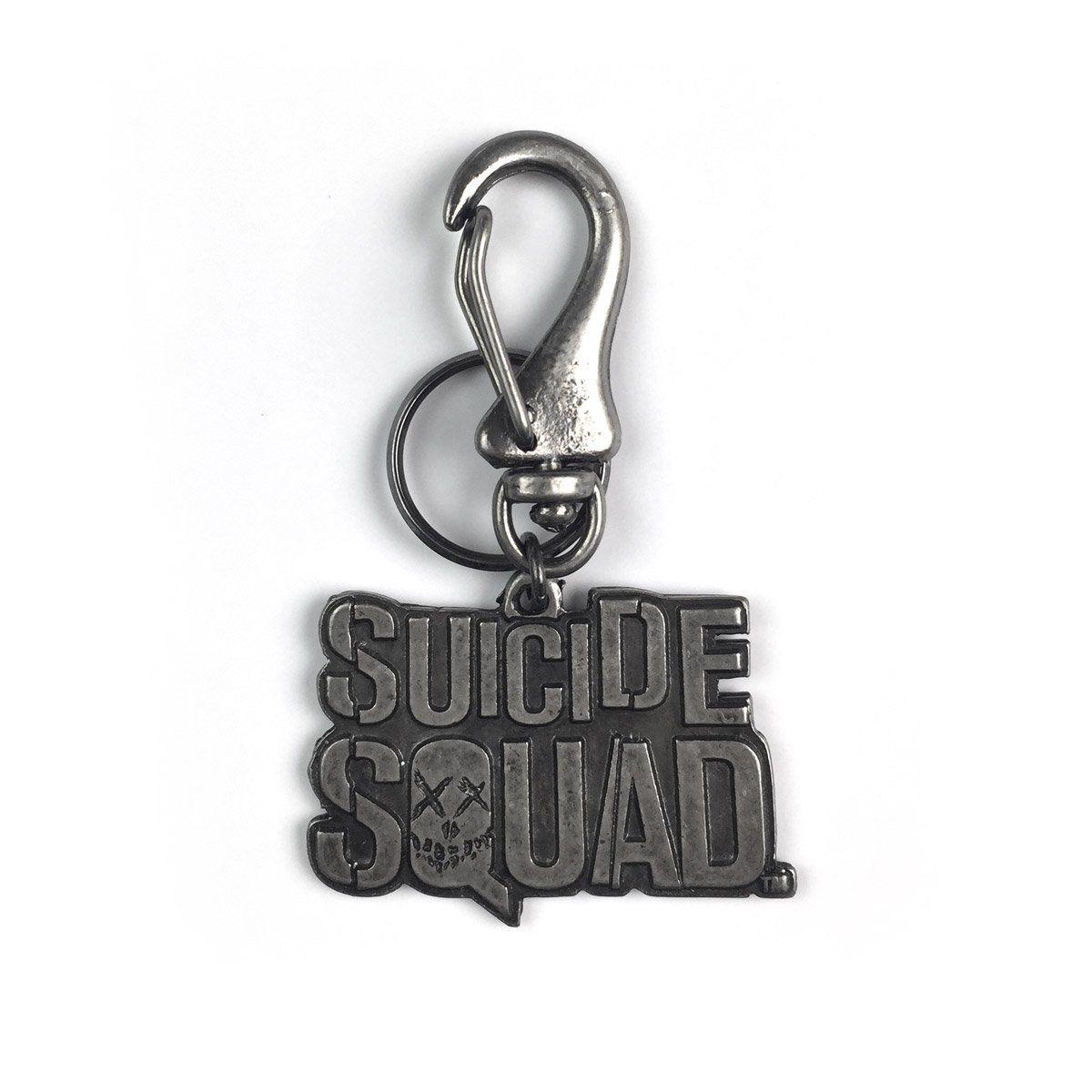Chaveiro de Metal Esquadrão Suicida Logo  - bandUP Store Marketplace