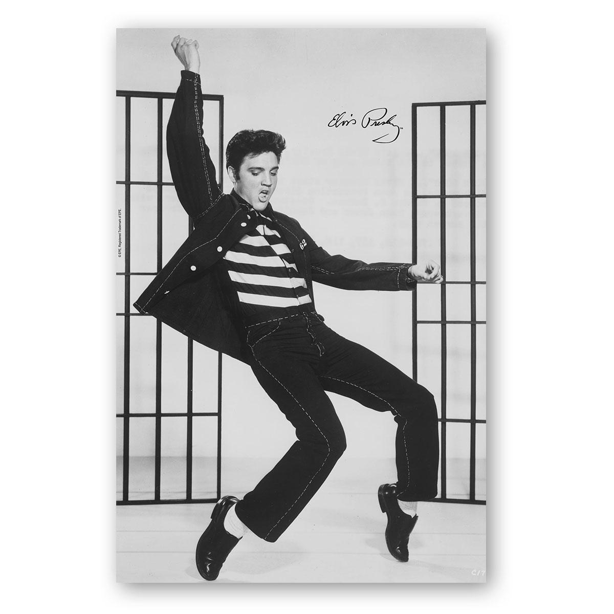 Poster Elvis - Jailhouse Rock Dancing  - bandUP Store Marketplace