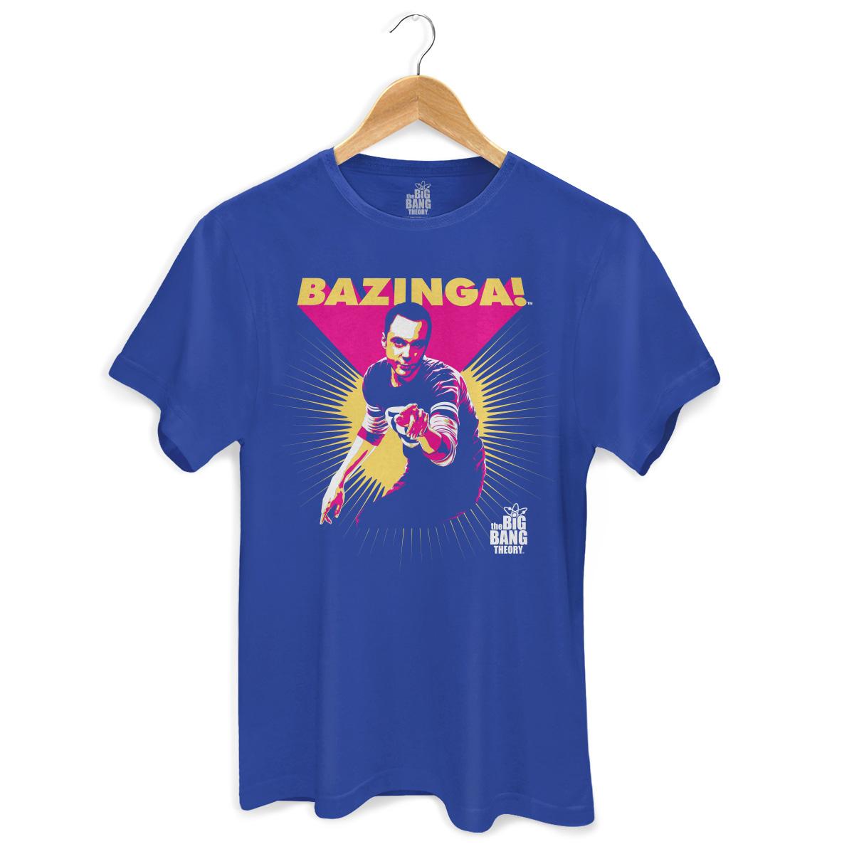 Camiseta Masculina The Big Bang Theory Bazinga!  - bandUP Store Marketplace