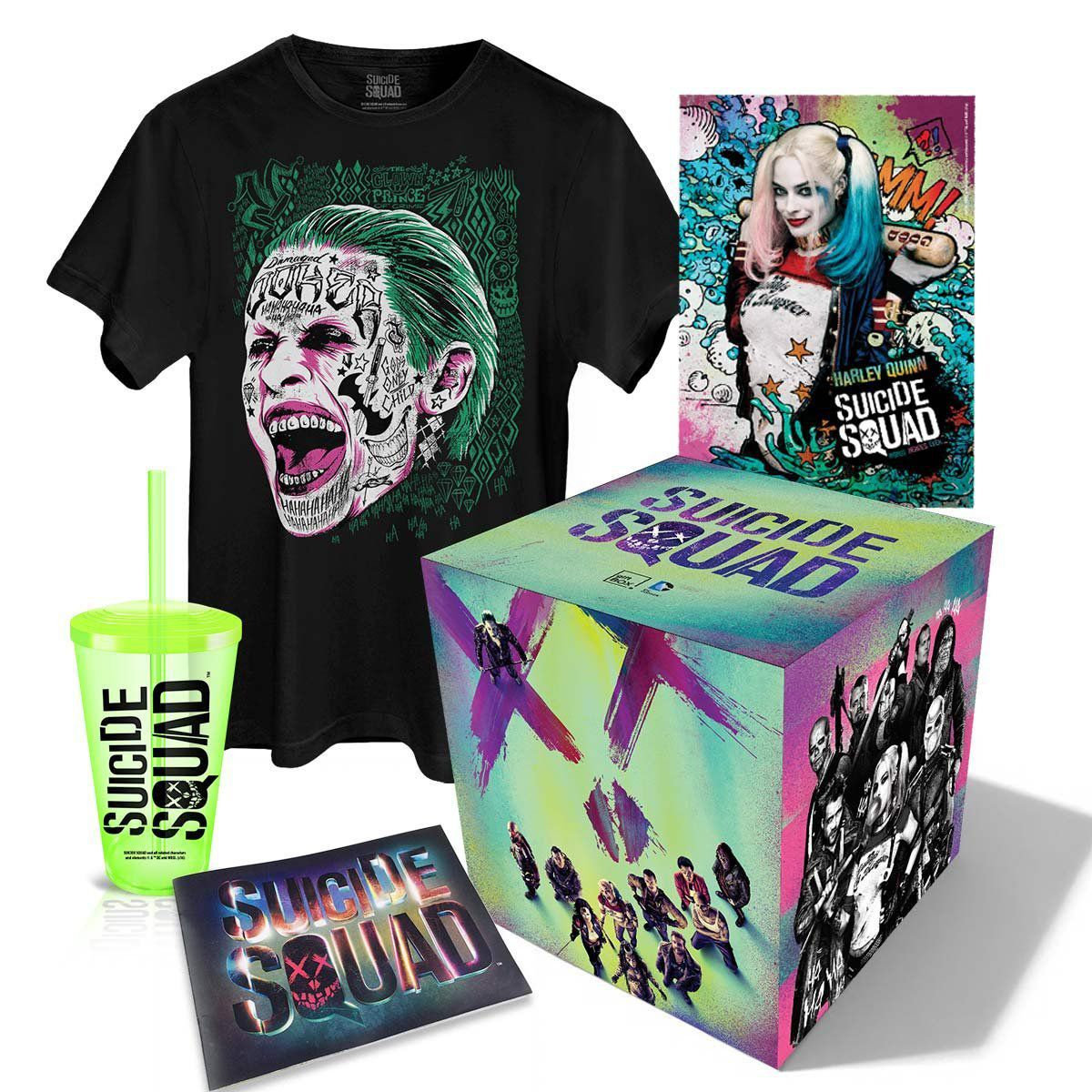 Camiseta + Gift Box Esquadrão Suicida  - bandUP Store Marketplace