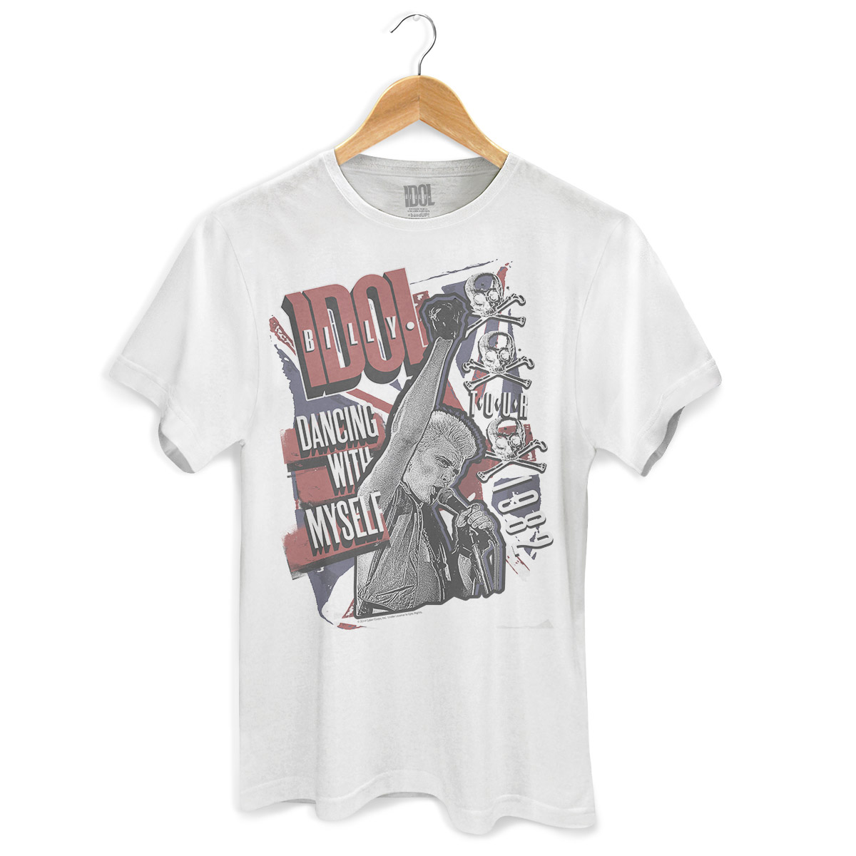 Camiseta Masculina Billy Idol Dancing With Myself  - bandUP Store Marketplace