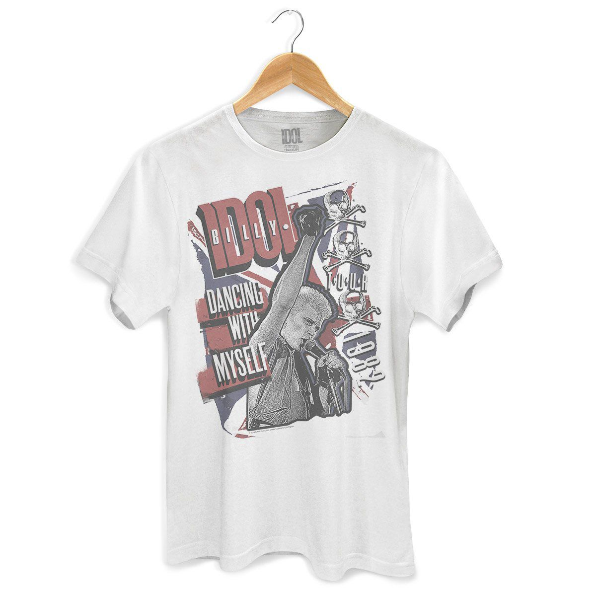 Camiseta Masculina Billy Idol Dancing With Myself  - bandUP Store Marketplace
