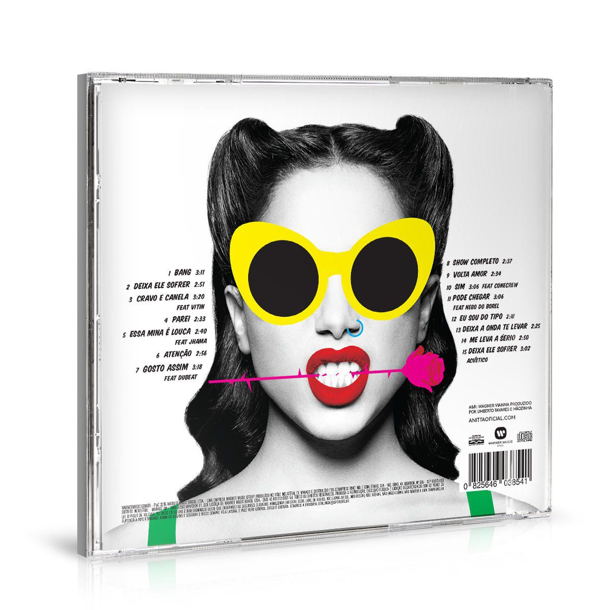 CD AUTOGRAFADO Anitta Bang!  - bandUP Store Marketplace