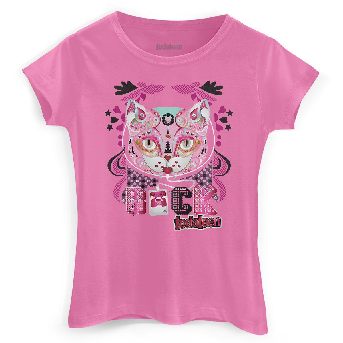 Camiseta Feminina TodaTeen Egyptian Cat  - bandUP Store Marketplace