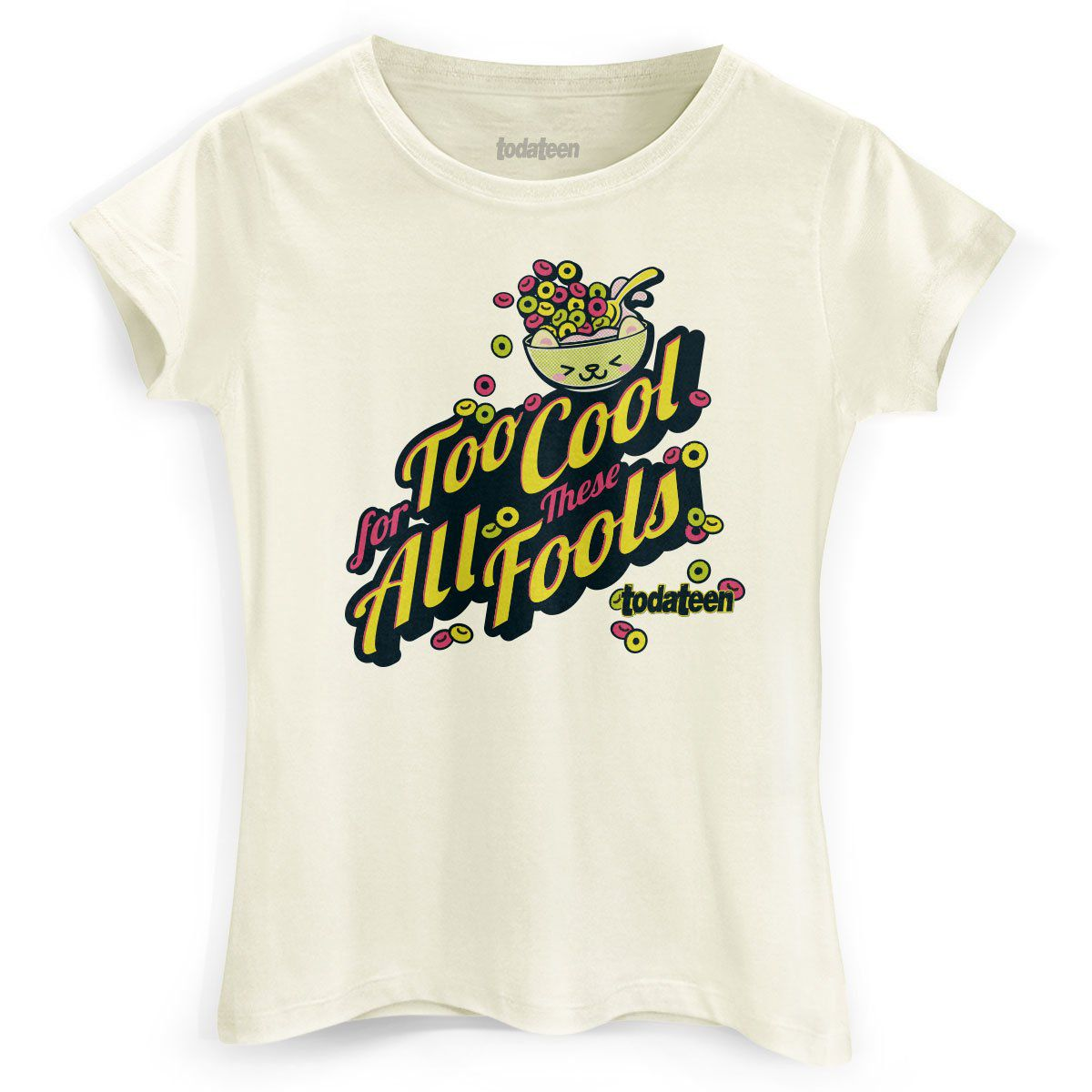 Camiseta Feminina TodaTeen Too Cool  - bandUP Store Marketplace