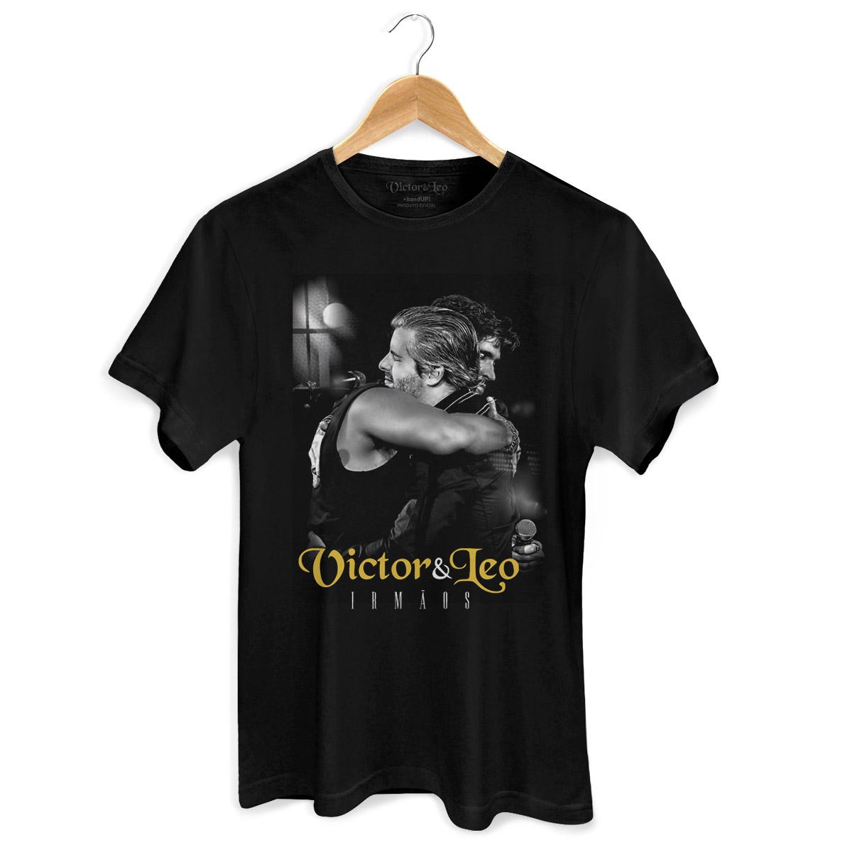 Camiseta Masculina Victor & Leo Irmãos  - bandUP Store Marketplace