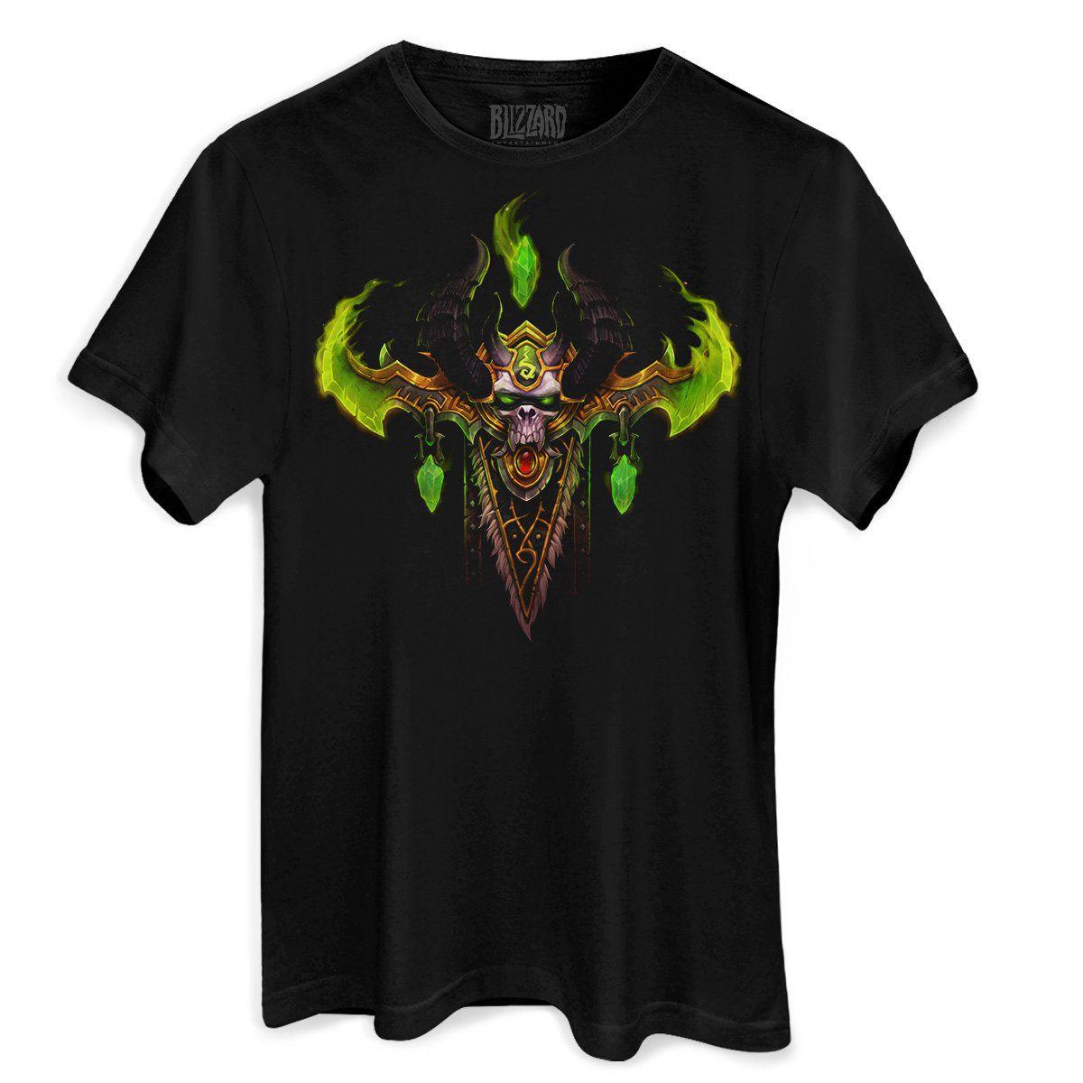 Camiseta Masculina World of Warcraft Illidan Demon Hunter  - bandUP Store Marketplace